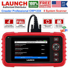 Launch Obd2 Scanner Code Reader Automotive Scan Tool Abs Srs Engine Diagnostic
