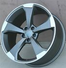 SET4 20 20X9 5x112 RS3 STYLE WHEELS RIMS AUDI A5 S4 S5 RS4 A4 R8 A6 Q5 A8
