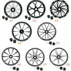 21x3.5'' Front Wheel Rim Hub Single/Dual Disc Fit For Harley Street Glide 08-20