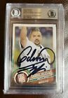 2015 Topps First Pitch Gabriel Iglesias FP25 Marlins Beckett Authentic Autograph