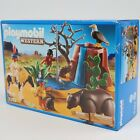 Playmobil Western 5252 Native American Children with Bear Cave Retired New 2012