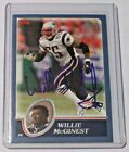 2013 Topps Archives Fan Favorite Autograph Willie McGinest Patriots USC Browns