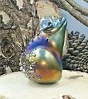 Neo Art Glass handmade art glass frog toad sculpture 1 of a kind sign KHeaton