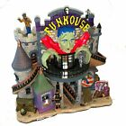 SpookyTown Lemax Funhouse Building Halloween Village Frankenstein