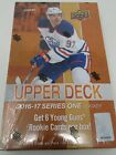 2016-17 UPPER DECK SERIES 1 HOCKEY HOBBY SEALED BOX