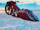 2014 Harley Davidson Touring Bagger with 143 SS  32 front wheel