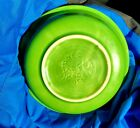 Fiesta HLC Shamrock Green Salad Bowl Made in USA Antique Collectible