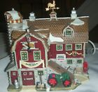 Lemax Village Collection Harvest Crossing Rare Porcelain Lighted House #25641