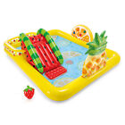 Intex 57158EP FunN Fruity Inflatable Kiddie Pool Play Center with Slide Used