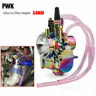 High Performance Racing Carb 34mm PWK Carburetor for 125 250cc Dirt Pit Bike ATV