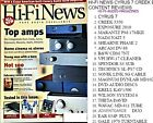 HI-FI NEWS CYRUS 7 CREEK EXPOSURE MARANTZ PM-17MKII NAIM NAIT 5 SHEARNE PHASE 2