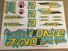 OLD SCHOOL BMX 1987 Dyno Pro Compe Decal Stickers