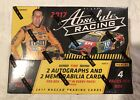 2017 PANINI ABSOLUTE RACING HOBBY  - 2 AUTOS & 2 RELICS PER  FACTORY SEALED BOX