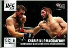 2018 Topps Now UFC MMA Cards 10