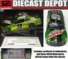 AUTOGRAPHED CHASE ELLIOTT 2018 RCCA MOUNTAIN DEW 1 24 ELITE LOW NUMBERS CASE 1