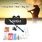 Lixada 21m Telescopic Fishing Rod Spinning Reel Sea Freshwater Travel Pole Set