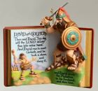 Hallmark Christmas Ornament David and Goliath 1st in Favorite Bible Story Series