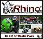 FRONT BRAKE PADS For: SACHS XTC-N 125 STREET 1998 1999 2000 DISC PAD SET FA095