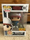 Funko Pop Television Netflix Stranger Things Dustin & Dart Hot Topic Exclusive