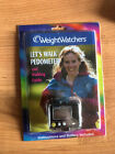 Weight Watchers Lets Walk Pedometer Stop Watch And Walking Guide NEW
