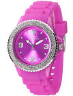 DETOMASO COLORATO WOMENS PINK GLAMOUR SILICON WATCH 40mm MIYOTA MOVEMENT NEW
