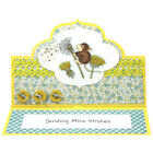 Stampendous cling mounted rubber stamp HOUSE MOUSE MAKE A WISH