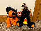 Haunts and Frightful Beanie Babies from Borders/Walden Books (14th Gen Hang Tag)