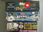 Lot of 3 Topps MLB Complete Factory Sealed Sets 2004 2005  2006