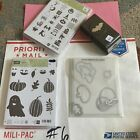 Lot Of Stampin Up Stamp Sets Halloween Dies Punch Stamp Used Mixed Sets Lot 6