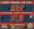2015 Score Football MASSIVE 24 Pack Factory Sealed Box-288 Cards+AUTOGRAPH RELIC