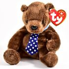 2000 2001 TY Beanie Baby Hero Father's Day Bear Retired Beanbag Plush Toy Doll