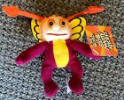 BUGALOOS The World of SID & MARTY KROFF Beanie doll PLUSH Sparky FIRE-FLY