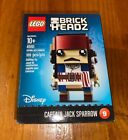 New Lego Brickheadz Captain Jack Sparrow - Dented Box