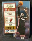 2010-11 Playoff Contenders Patches LEBRON JAMES Die Cut # 95 99 Rare Only 99