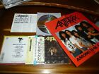 Anthrax / Among The Living JAPAN w/Poster P35D-20032 1ST PRESS *I