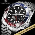 Sapphire Glass Automatic Mechanical 40mm GMT Stainless Steel Jubilee Bracelet