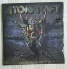 ATOMKRAFT Looking Back to the Future vinyl LP Minotauro Records thrash Venom Inc