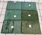 67 Vintage Christmas Blown Glass Icicles Ornaments Clear Twisted Original Boxes