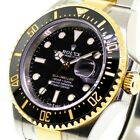 ROLEX SEA-DWELLER STEEL AND YELLOW GOLD ROLESOR 43 MM WITH BLACK DIAL 126603