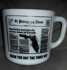 St Pete Times/Evening Independent COFFEE CUP TBO-Tampa Bay Times NEWSPAPERS Mug