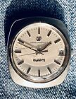 Vintage Men's Girard Perregaux 1970's Quartz Watch Retro, Trendy, Cool!!!!