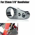 Motorcycle Brake Clutch Cable Wire Clamp Holder Fix For 25mm/1
