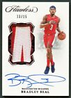 BRADLEY BEAL 2018 FLAWLESS RUBY 2-COLOR PATCH AUTO AUTOGRAPH 15 *WIZARDS STAR*