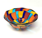 Murano Glass Bowl Handmade Stylish Glass Made In Italy