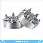 2Pcs 2 Wheel Spacers Adapters 5x45 For Jeep Grand Cherokee Wrangler Liberty