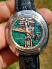 1974 Bulova Accutron Spaceview N4 Stanless Steel Mens Watch Works!