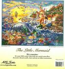 MG Textiles Disney Dreams Collection Little Mermaid Counted Cross Stitch Kit