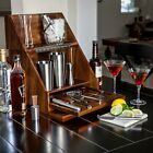 Acacia Stainless Steel Cocktail Shaker Mixer Drink Bartender Tools Bar Set Kit