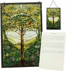 Tree of Life Tiffany Window reproduction hand painted glass