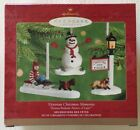 Hallmark Thomas Kinkade Victorian Scene Christmas Memories Set 3 Ornaments New